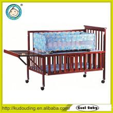 New design baby wooden bunk bed