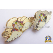 Customized Assembled Plating Gold Soft Enamel Lapel Pin