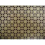Maglia metallica perforata decorativa