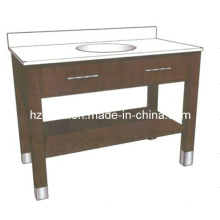 Hotel Solid Wood Bathroom Vanity (BA-1124)