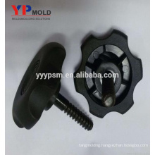 Popular Plastic Nylon Knobs Insert Nut Injection Mold