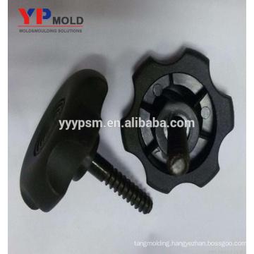 Popular Plastic Nylon Knobs Insert Nut Injection Mold