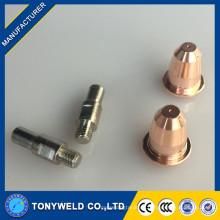 Trafimet S45 boquilla de plasma y electrodo soplete de soplete de plasma y electrodo