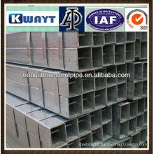 SEAMLESS galvanized square tubes
