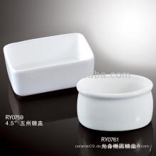 Schöner Porzellan-Zucker-Topf