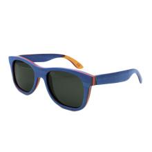 Gafas de sol personalizadas de bambú de alta calidad al por mayor de la marca FQ