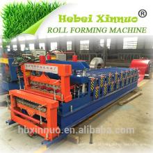 828 + 850 máquina de prensagem de deck duplo