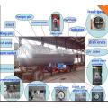 50cbm de haute qualité en acier inoxydable réservoir de stockage asme lpg réservoir à bas prix