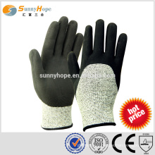 SUNNYHOPE HPPE cut resistant work gloves with nitrile foam
