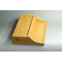 Caja de presentación de bambú personalizada