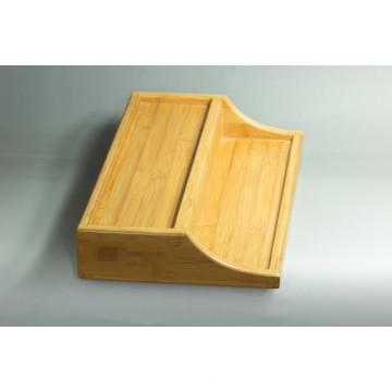 Caixa de apresentação de bambu personalizada