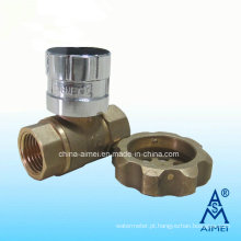 Válvula de esfera de latão com fechadura magnética (Fv-01)