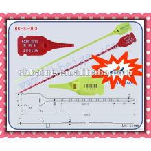 Puxe a tag BG-S-003, etiquetas à prova de adulteração