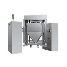automatic lifting chemical powder square cone mixer mixing machine