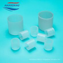 Plástico 25mm pp que embala o anel de Raschig com material do polipropileno do Virgin