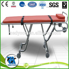 Height can be adjustable stretcher trolley
