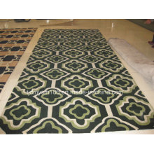 New Modern Simple Pattern Wool Carpet Floor Mat