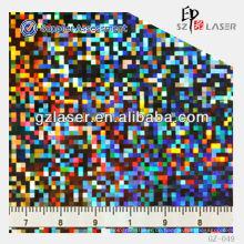 GZ-049, Hologramm General Master, geprägtes PVC-Blatt