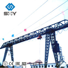 MH Type 5-20ton Single Girder Electric Hoist Gantry Crane(Trussed type)
