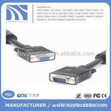 Varón del VGA de 30ft SVGA al cable de extensión femenino 10M para el monitor de la PC Proyectores TV