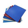feuille d'aluminium de toit enduite par couleur d'usine