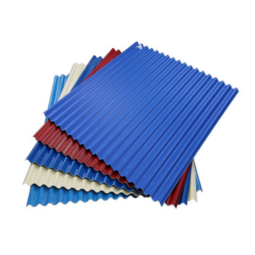 Warna Wave Wholesal Coated Zincalume Roofing Sheet