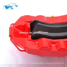 Système de freinage de course de haute performance pour les pièces automobiles Étriers de frein rouges GT6 adaptés pour kit de frein Audi Q5