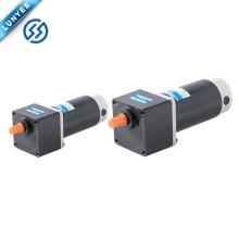 12v 24v 90v alto torque bajo rpm motor de corriente continua con reducción de engranaje