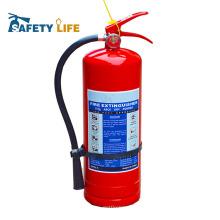 Feuerlöscherflasche des ABC-chemischen Pulvers leere