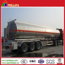 Tanque de tanque de armazenamento de combustível líquido semi tanque de reboque