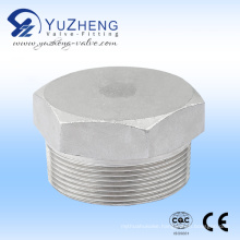 Stainless Steel High Pressure Hex. Plug Fitting
