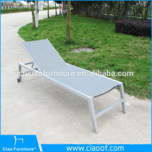 Aluminum Sling Sun Lounger Leisure Chairs