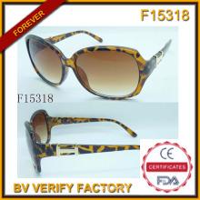 Sexe Leopard Print lunettes de soleil avec échantillon gratuit (F15318)