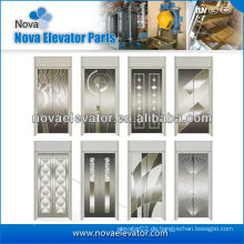 Standard-Haarsträhnen-Edelstahl-Aufzug-Tür-Verkleidung, Aufzug-Kabine-Tür