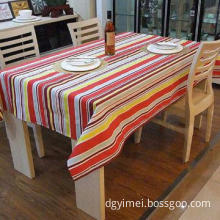 100% polyester/cotton fabric tablecloth, waterproof