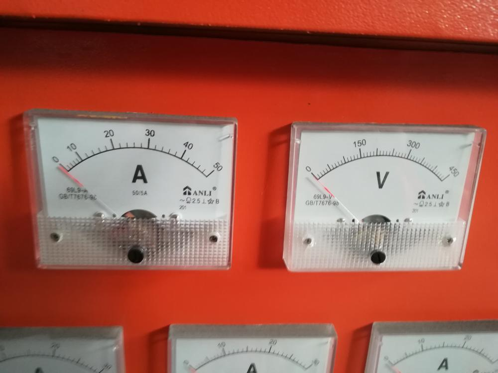Ampere Meter on Machines