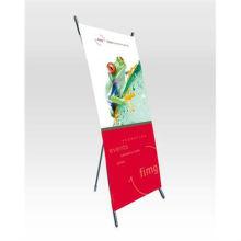 x-banner, / X Bannerständer, / Dreibein X banner stand