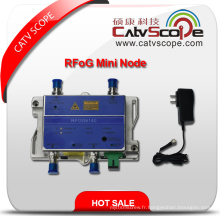 CATV FTTH Bi-Directionnel Optical Fiber Receiver Rfog Mini Node