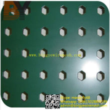 Powder Coated Aluminum Perforated Metal Mesh