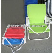 Chaises pliantes de plage à vendre