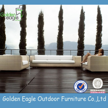 Luxury Outdoor sectional rattan garden sofa