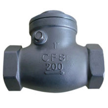 Check Valve in Swing Type, Made of Stainless Steel