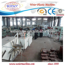 PVC fiber soft hose making machine lines