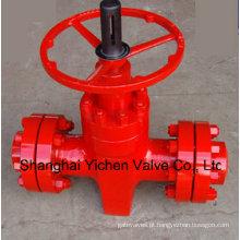 Válvula de porta de alta pressão API 6A