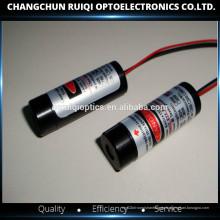 Molde de diodo láser de punto rojo de 635 nm y 1 mW