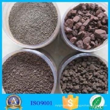 Filtro de areia de manganês de mídia de filtro de água potável