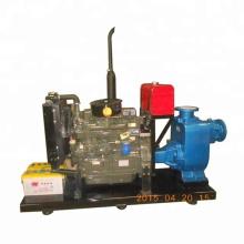 Self-priming diesel pumps system