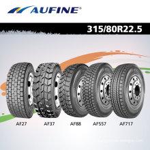 Neumático de camión radial para el mercado de la UE (215 / 75R17.5 225 / 70R19.5 315 / 80R22.5)