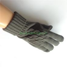 Серый жаккардовый трикотажный комбинезон из пяти перчаток