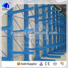 Estantería de acero inoxidable usado, acero Q235 almacenamiento en almacén usado estantería en voladizo